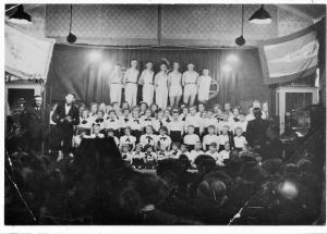 Uitvoering in de Blauwe zaal 1939-1940